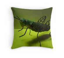 Good Luck Cricket Throw Pillow