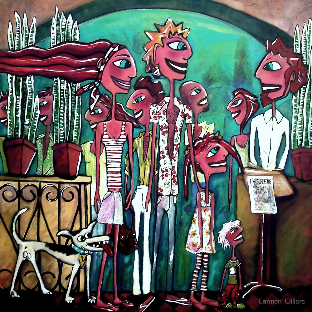 The Strip Strollers by Carmen  Cilliers