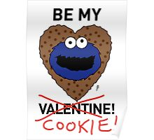 COOKIE MONSTER VALENTINE'S CARD 2 Poster