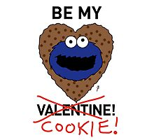 COOKIE MONSTER VALENTINE'S CARD 2 Photographic Print