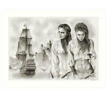 The Revenge of The Mist Art Print