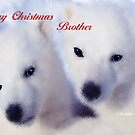 MERRY CHRISTMAS - BROTHER by Madeline M  Allen
