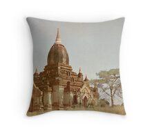 Memories of Bagan #2 Throw Pillow
