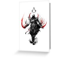 Assassin's Creed Ezio Greeting Card