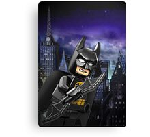 Lego Batman is there! Canvas Print