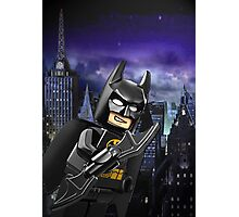 Lego Batman is there! Photographic Print