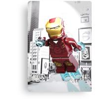 Lego Iron Man Canvas Print