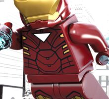 Lego Iron Man Sticker