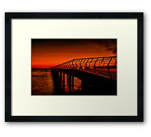 """Majestic Morning in Lorne"" Framed Print"