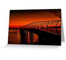 """Majestic Morning in Lorne"" Greeting Card"