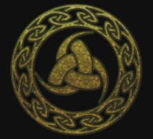 Triple Horn of Odin, Celtic Knot, Triforce, Odin Symbol by nitty-gritty
