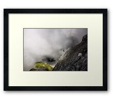 Cloudy drama Framed Print
