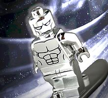 Lego Silver Surfer by steinbock