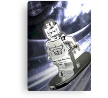 Lego Silver Surfer Canvas Print