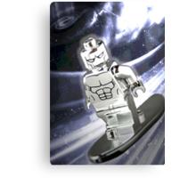 Lego Silver Surfer Canvas Print