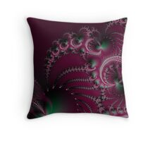 Attack of The Glowing Pinch Worms Throw Pillow