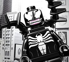 Lego Venom in the city by steinbock