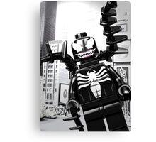 Lego Venom in the city Canvas Print