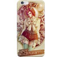 Lady Elizabeth - The victorian girl iPhone Case/Skin