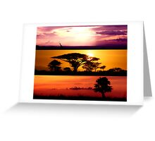 From Africa, With Love Greeting Card