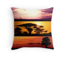 From Africa, With Love Throw Pillow