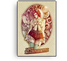 Lady Elizabeth - The victorian girl Canvas Print