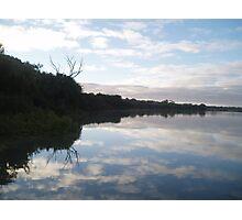 Reflections at Murray Bridge. Photographic Print