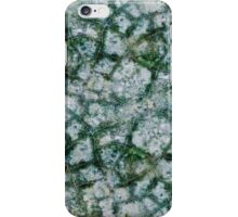 concrete surface is covered with cracks of art iPhone Case/Skin
