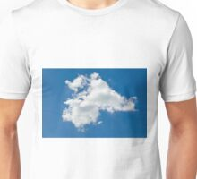 lone cloud in the pure blue sky Unisex T-Shirt