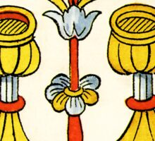 Two Of Cups Sticker