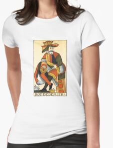 King Of Coins Womens Fitted T-Shirt