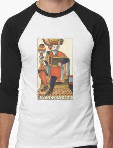 King Of Cups Tarot Card Men's Baseball ¾ T-Shirt