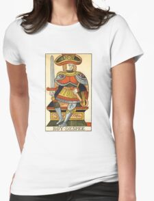 King Of Swords Womens Fitted T-Shirt