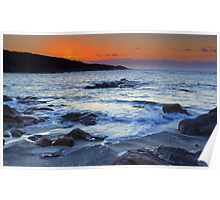 Fishermans Bay Sunrise Poster