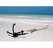 Miles Away from Real Anchor Photographic Print
