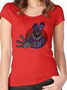 Bonnie the Bunny Women's Fitted Scoop T-Shirt