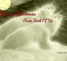MERRY CHRISTMAS ~ FROM BOTH OF US by Madeline M  Allen