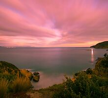Storm Bay from Goats Bluff by Ben Short