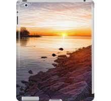 Purple Rocks Sunrise – Lake Ontario Impressions iPad Case/Skin