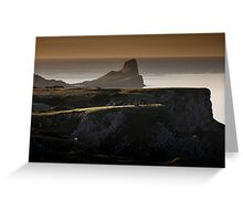Worm's head on the Gower peninsular Greeting Card