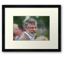 Gerry Adams Bobby Sands Framed Print