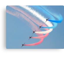Red Arrows in Saudi Arabia 04 Canvas Print