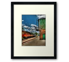 Kitchi Gammi - Passenger Car Framed Print