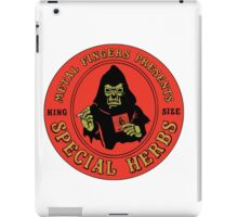 MF DOOM Special Herbs Tee iPad Case/Skin