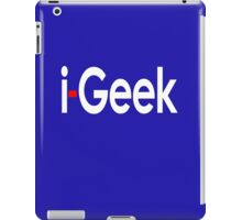 i-Geek Cool Shirt Top Design T iPad Case/Skin