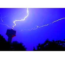 Thundering And Lightning Photographic Print