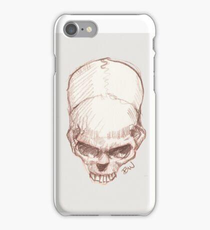 Tilted Skull - The Punisher iPhone Case/Skin