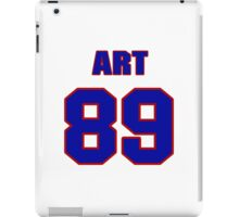 National football player Art Gob jersey 89 iPad Case/Skin
