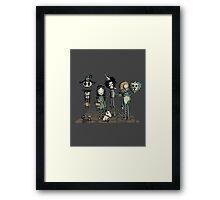 Burtons of oz Framed Print