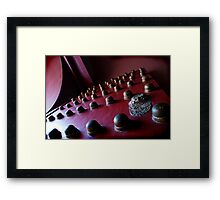 forbidden entry Framed Print